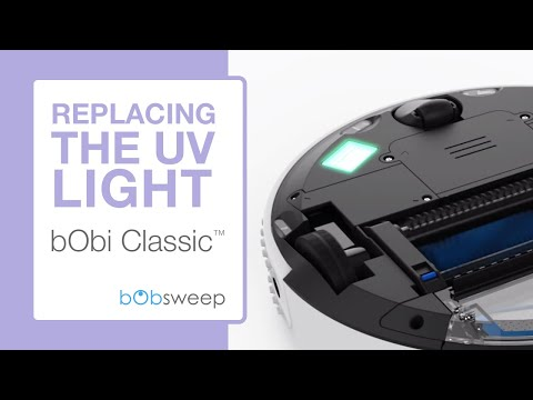Replace the UV Lamp | bObi Classic™