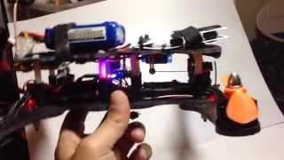 Simple DIY tilt gimbal for 250 class quadcopter