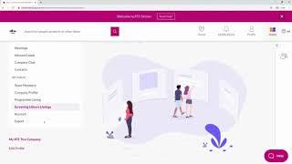 ATF Online+ - Managing my Company Thumb