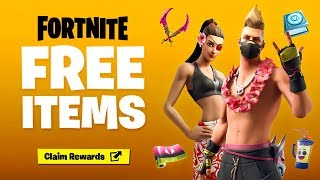 GET THE NEW FREE ITEMS in Fortnite! (FREE REWARDS)