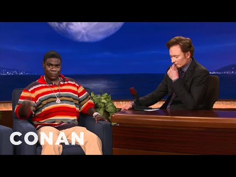 Tracy Morgan: Obama's A Gangbanger Who Needs A Tattoo  CONAN on TBS
