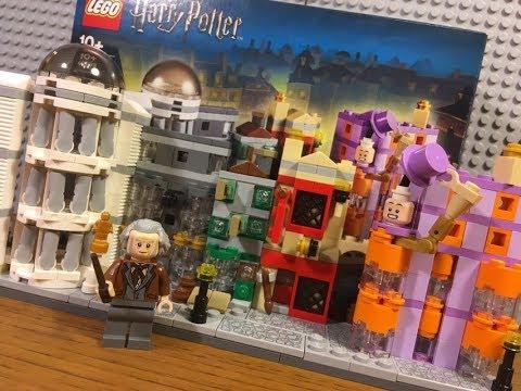 Обзор Нового Набора Лего Гарри Поттер 40289 Косая Аллея / Lego Harry Potter 40289 Diagonal Alley