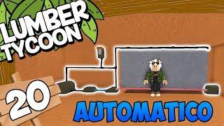 LASER #20 AUTOMATIC GARAGE DOOR ? Lumber Tycoon 2 - ROBLOX Deutsch [KraoESP]
