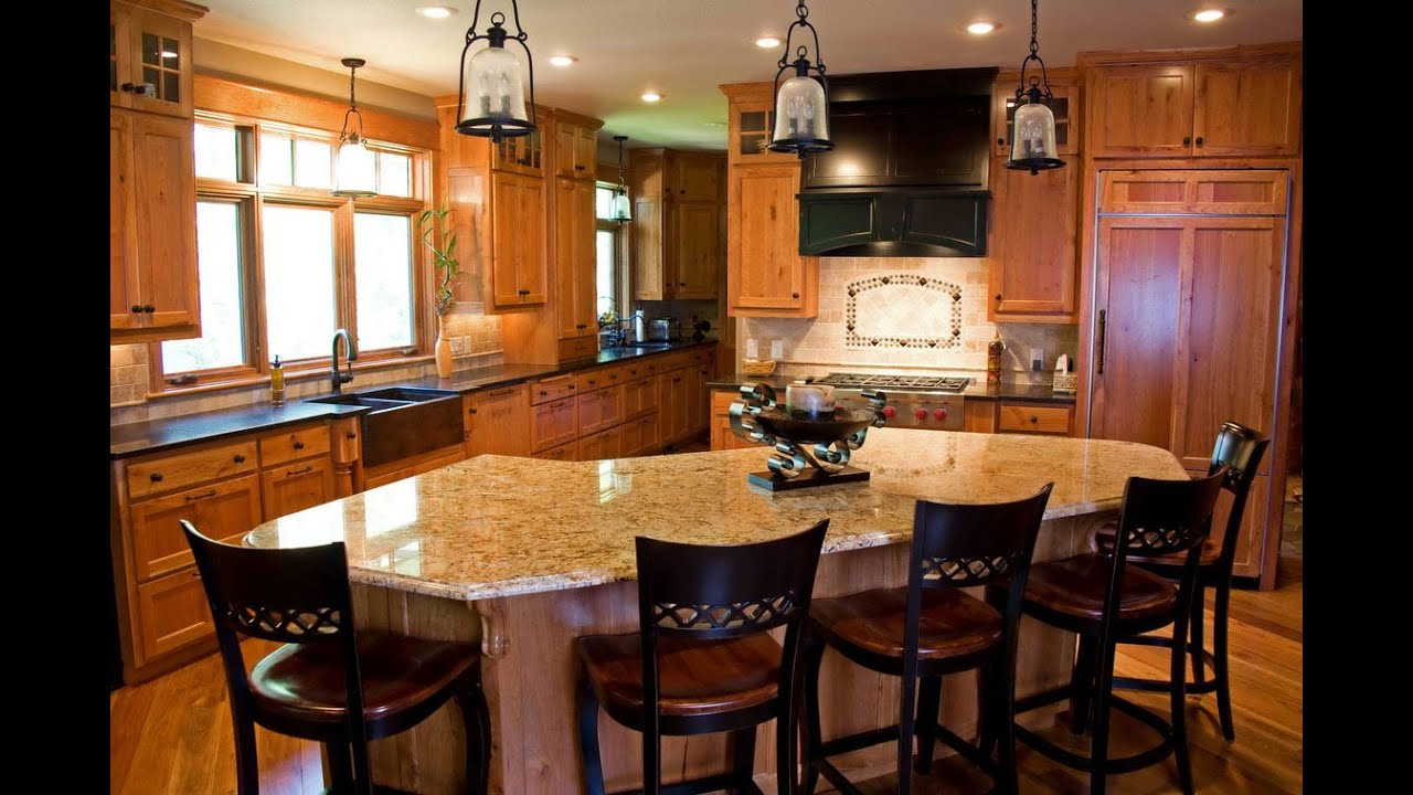 Unique design ideas for kitchen luxury interior design for Kitchen designs photo gallery