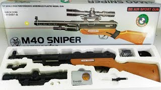 Toy gun Realistic Police Gun / Guns Box Military Weapon Toys / Soft Bullet Gun Toys for Children