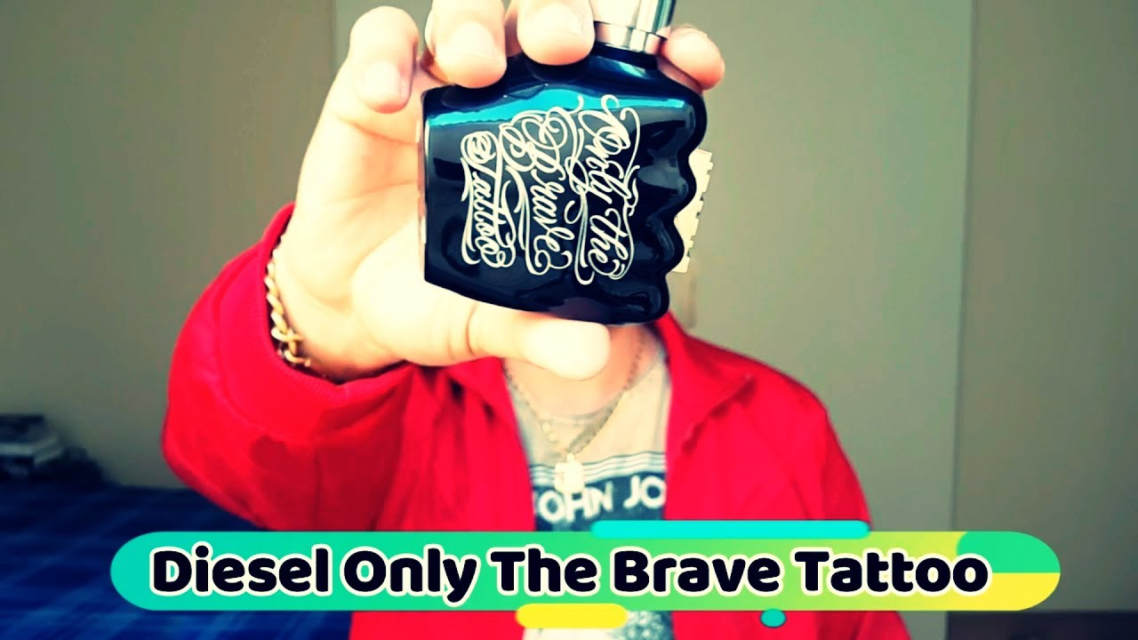 resenha perfume diesel only the brave tattoo youtube. Black Bedroom Furniture Sets. Home Design Ideas