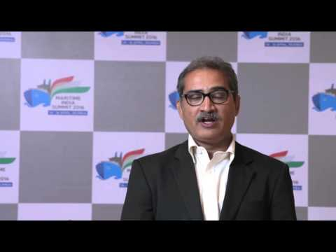 Mr. Atul Kulkarni, Maritime Consultant on potential of Maritime India Summit 2016