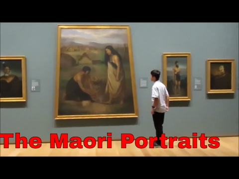The Maori Portraits, Auckland Art Gallery