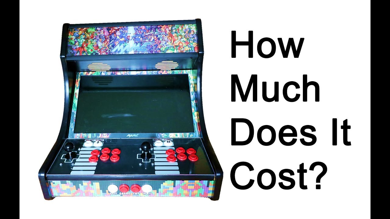 Bartop Arcade Build Cost