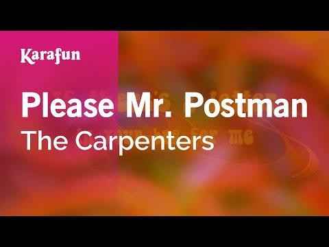 Karaoke Please Mr. Postman - The Carpenters *