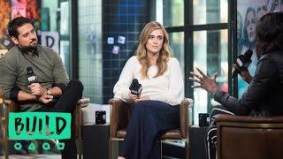 "J.R. Ramirez & Melissa Roxburgh Discuss NBC's ""Manifest"""