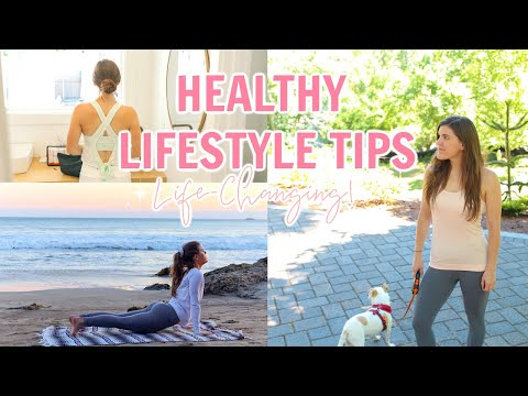 HEALTHY LIFESTYLE TIPS! Simple Ways to GET FIT & Live Well!