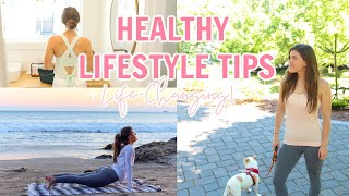 These tips have helped me to live a healthy lifestyle and stay fit ~ i hope they help you too :) outfit one - sunset stretch outfit: long sleeve: https://go....