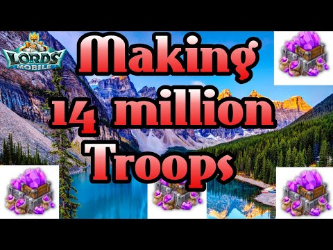 Making 14m Troops!! F2p Style!
