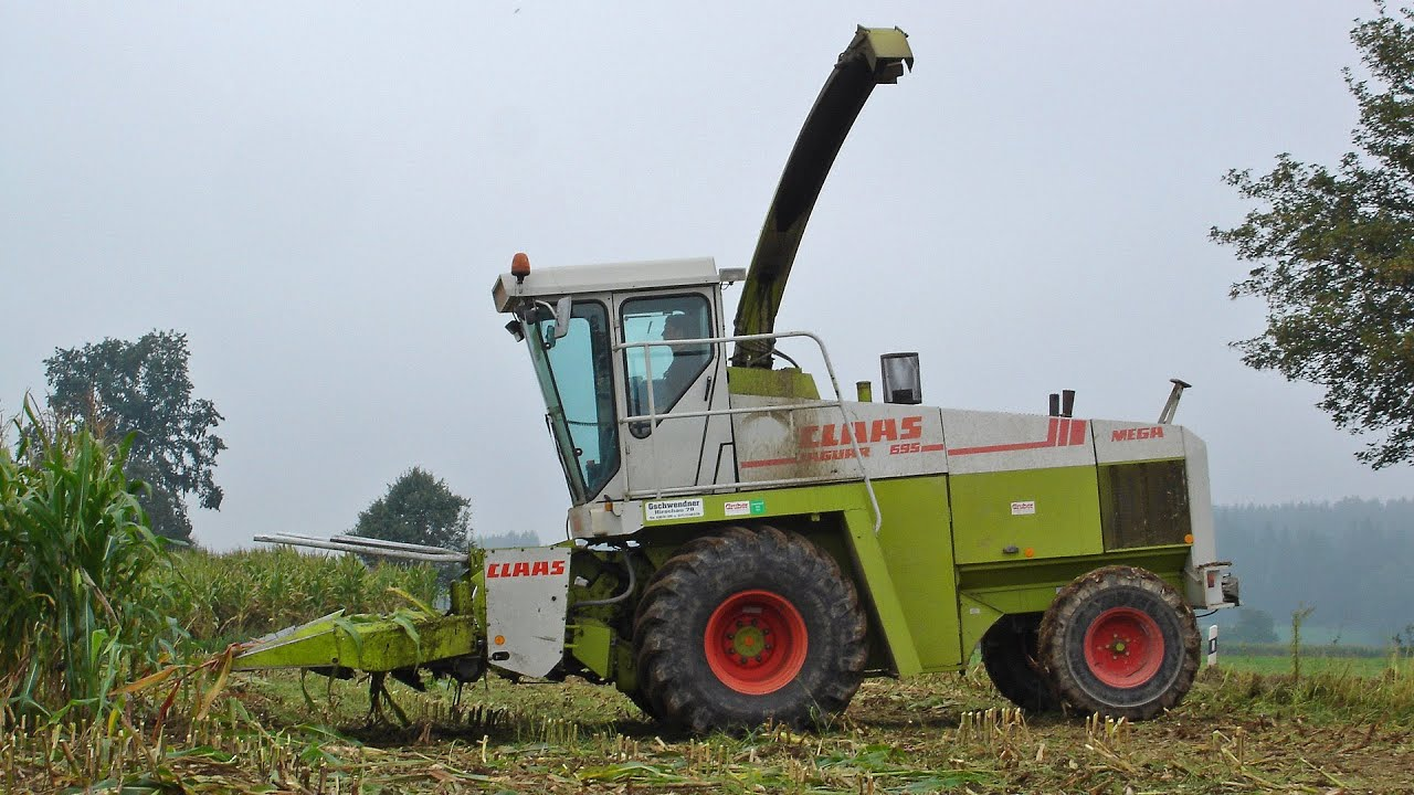 Claas Jaguar 695 Mega Youtube