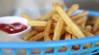Home Made French Fries Cook In 2 Minutes - French Fries Recipe