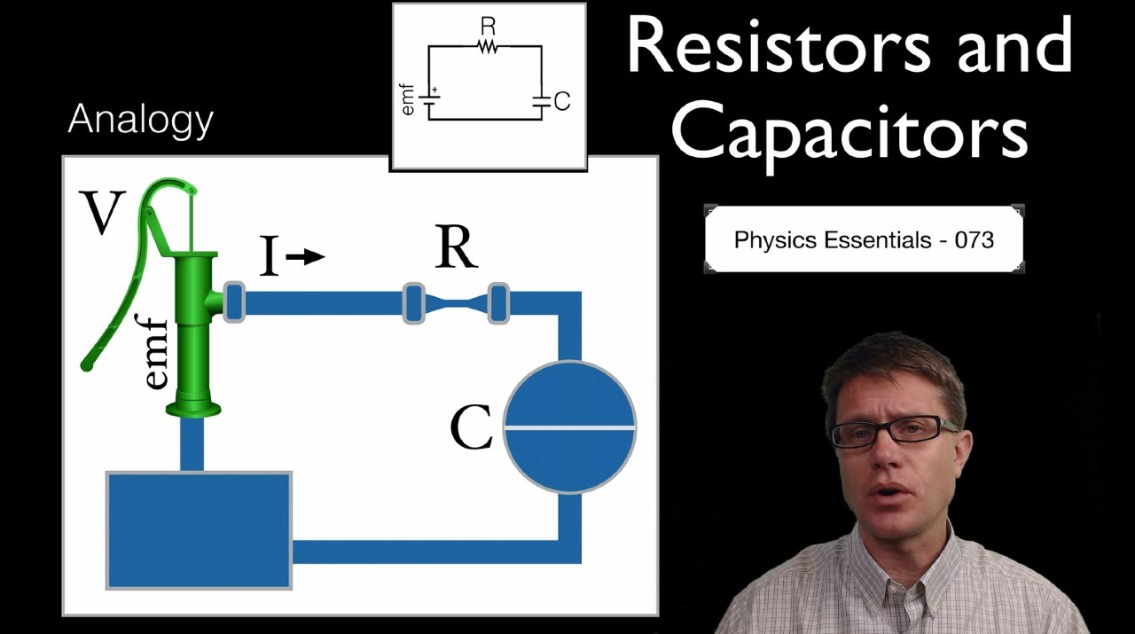 Resistors And Capacitors Youtube Is To Build A Simple Rc Circuit With Resistor