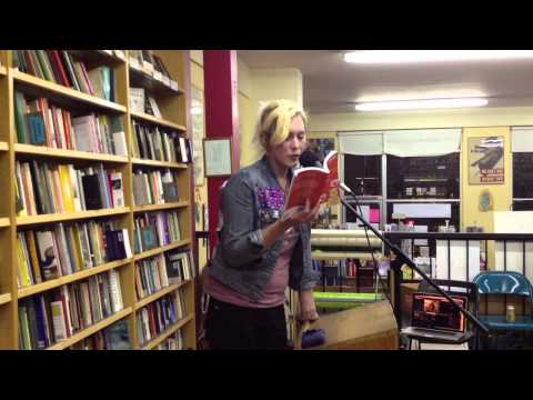 "Imogen Binnie reading from ""Nevada"" at Pegasus Books - Part 2 of 3"