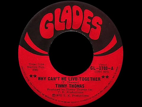Timmy Thomas ~ Why Can't We Live Together 1972 MLK Tribute Remix