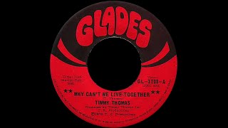 Timmy Thomas ~ Why Can't We Live Together 1972 MLK Tribute Remix Mp3