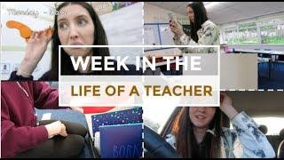 Teacher Weekly Vlog - A Week In The Life Of A UK Teacher | Week 1