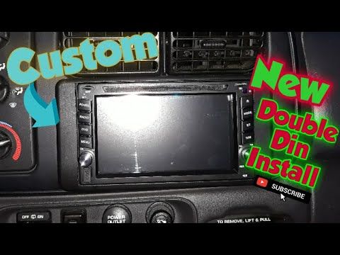 INSTALLING A CUSTOM DOUBLE DIN RADIO
