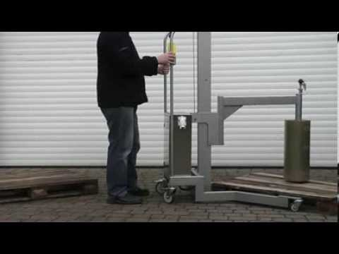 Bespoke Handling Solutions, Roll Handling, Reel Handling, Stainless Steel Lifting Equipment, UK