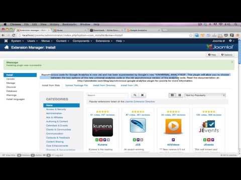 Installing Google Analytics For Joomla - Joomla Beat