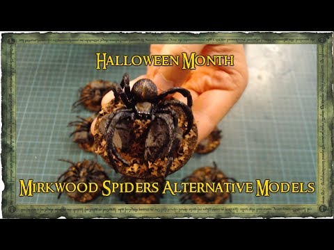 Tales Of Middle Earth - Mirkwood Spiders Alternative Models