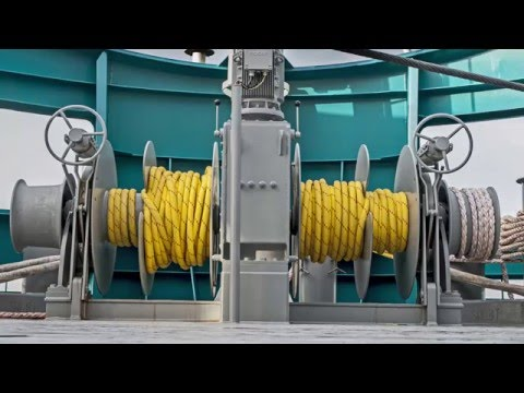 The innovative deck equipment of SEC Groningen used on the Acta Orion