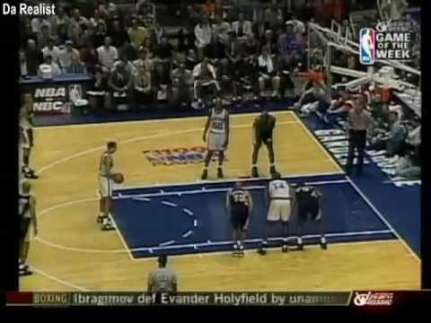 Pacers Vs Knicks 1995 NBA Playoffs