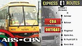 'Express Connect' sa EDSA, ilulunsad na sa Lunes