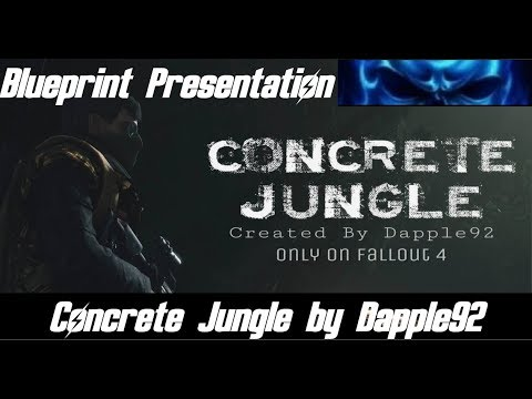 Blueprint presentation concrete jungle by dapple92 fallout 4 blueprint presentation concrete jungle by dapple92 fallout 4 spectacle island malvernweather Gallery