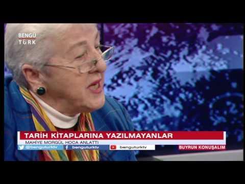 Mahiye Morgül Bengü Türk TV'de Mohti Oğuz VI Mitridate'yi anlatıyor 09 12 2016