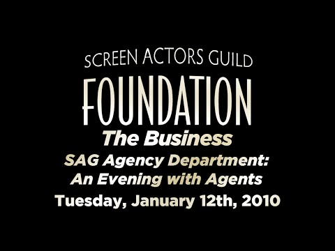 The Business: SAG Agency Department: An Evening with Agents