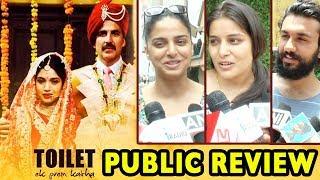 Public review: toilet ek prem katha - first day first show