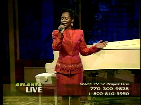 """Anndretta Sings Live on TV: """"My Father Watches Over Me"""""""