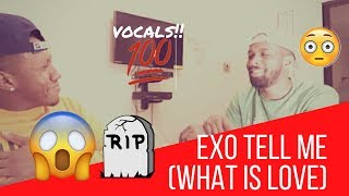 Exo Tell Me (What is love) Reaction performance + Audio {New Exo-L}