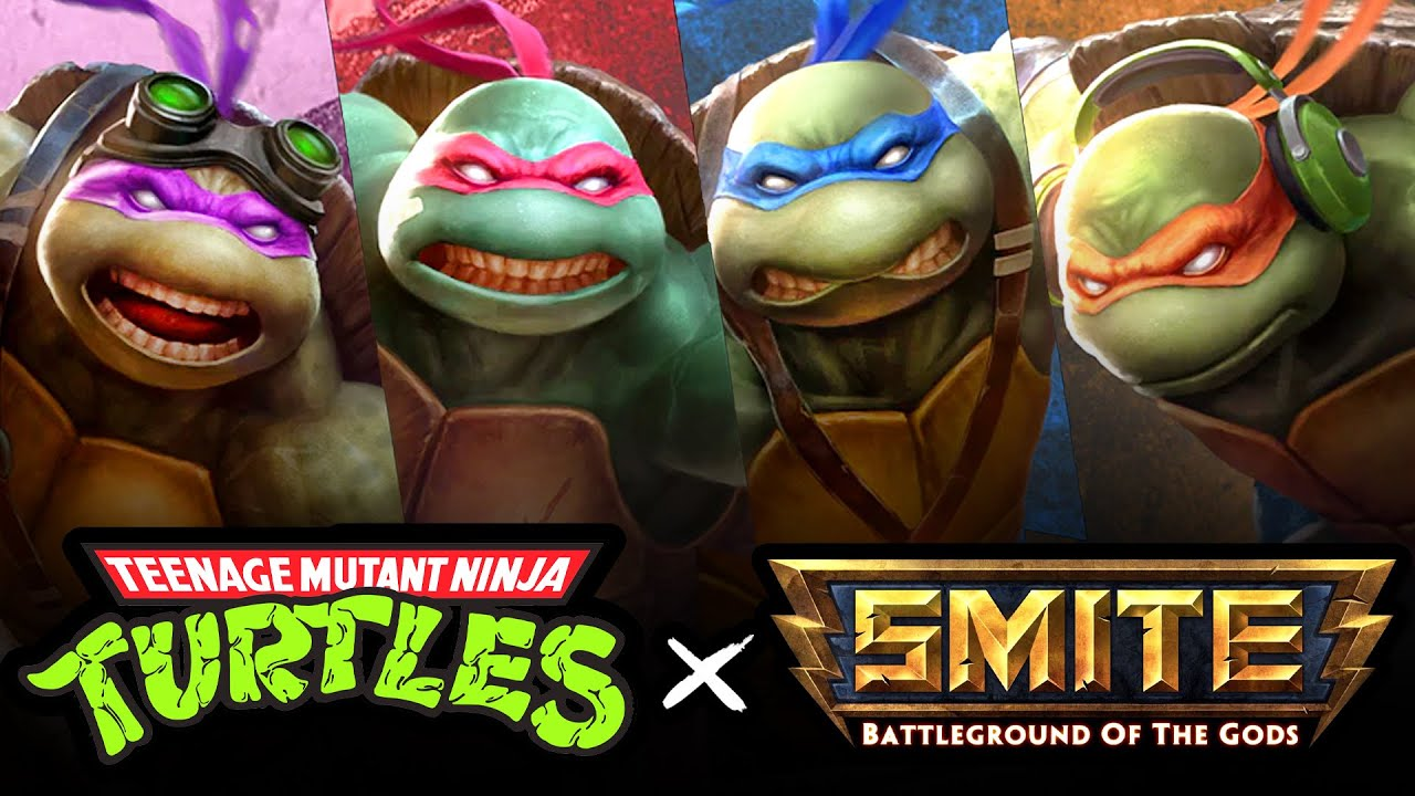 Cowabunga! Playing as the Ninja Turtles in Smite (TMNT) – Cinemassacre
