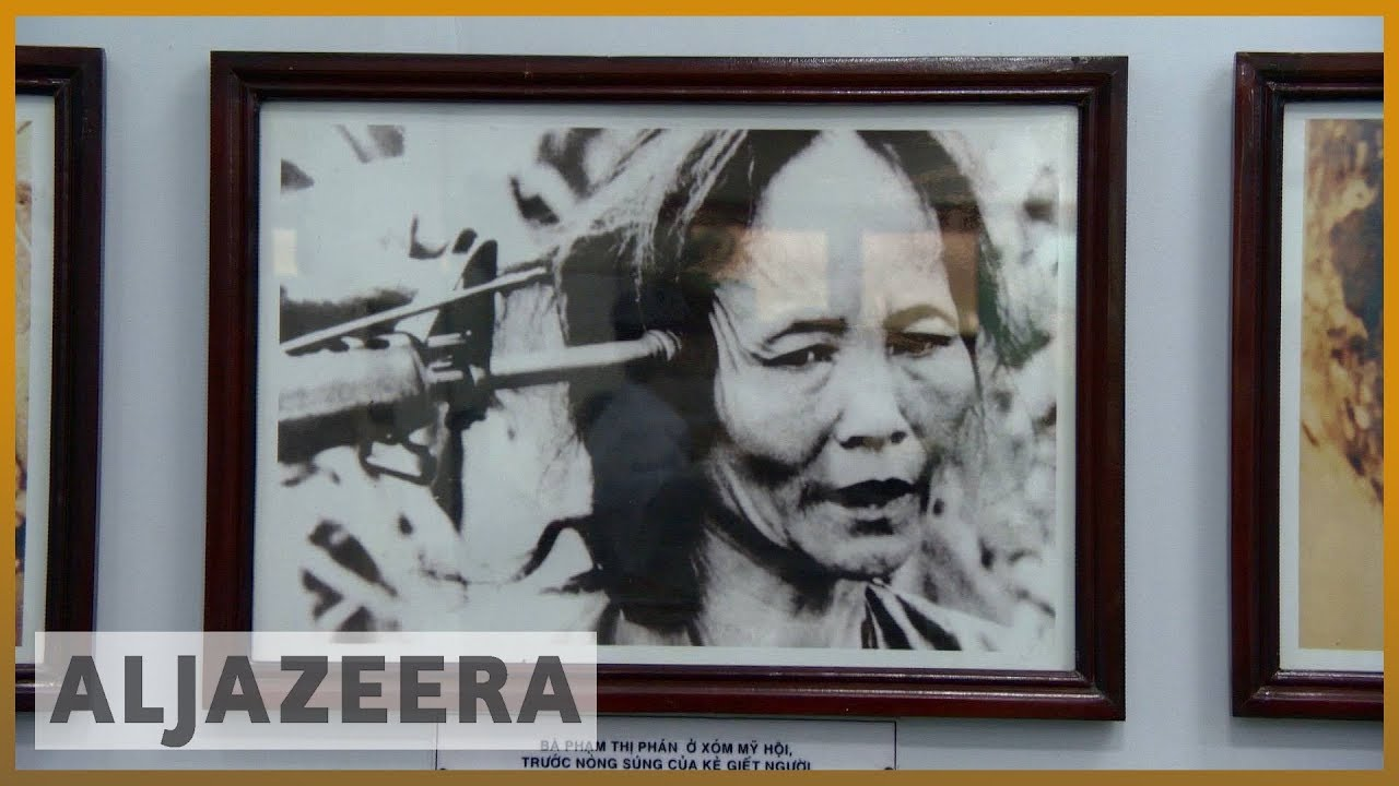 🇻🇳 My Lai massacre remembered in Vietnam   Al Jazeera English