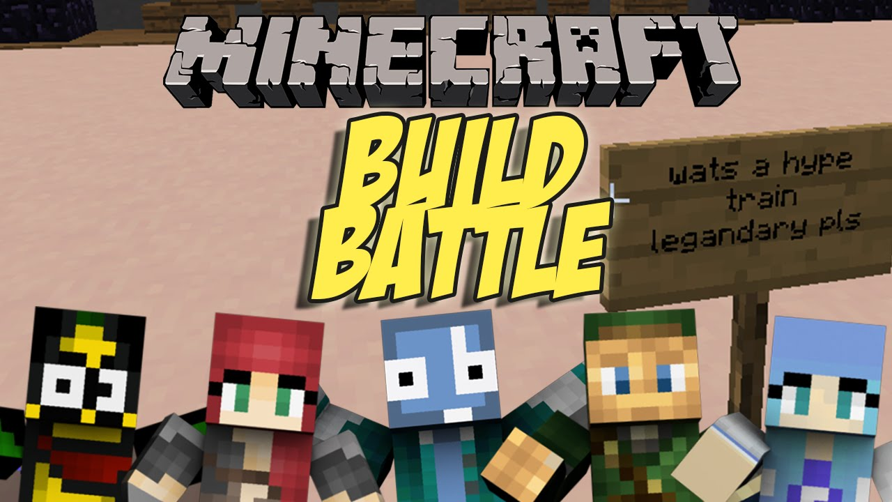 Minecraft ITA | HYPE TRAIN | Build Battle Minigame - YouTube