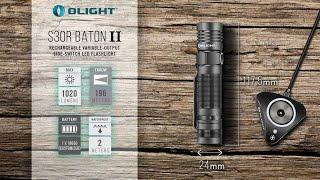 Trên tay đèn pin EDC Olight S30R Baton II