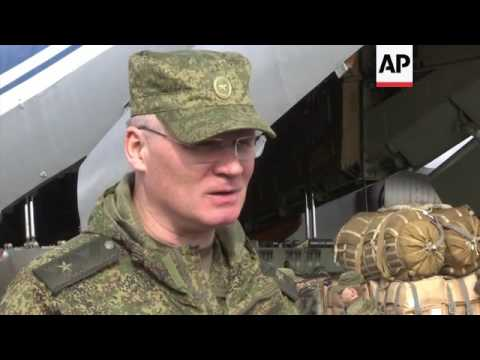 AP visits Russian air base in Latakia