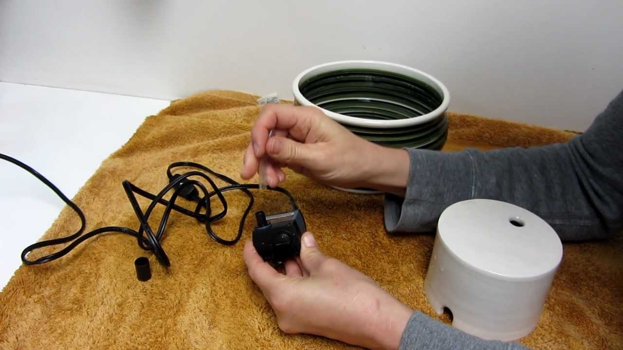 Handmade Ceramic Cat Water Fountain Potteryforpets Net