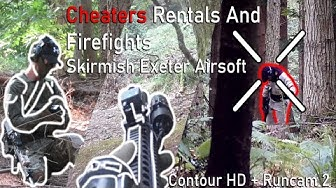 Cheaters Rentals And Firefights | Skirmish Exeter Airsoft  | Contour HD | Runcam 2 AS