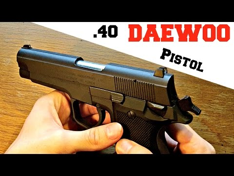 Daewoo DH40 Pistol Review And Field Strip