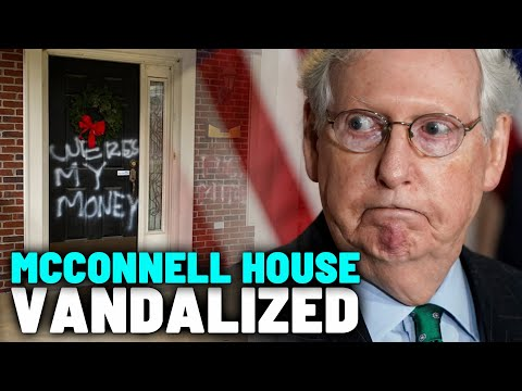 Mitch-McConnells-House-Vandalized-After-Shutting-Down-2000-Stimulus-Check-Bill