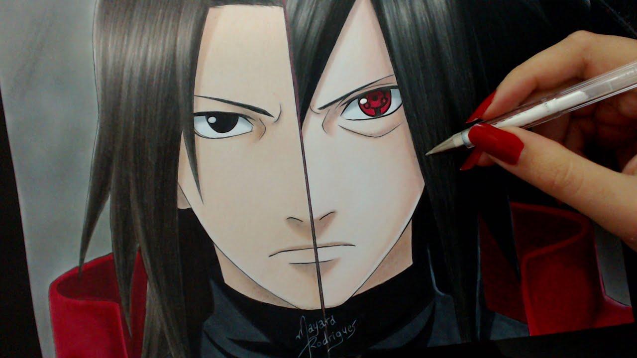 Akatsuki Wallpaper Hd Speed Drawing Hashirama Madara Naruto Youtube