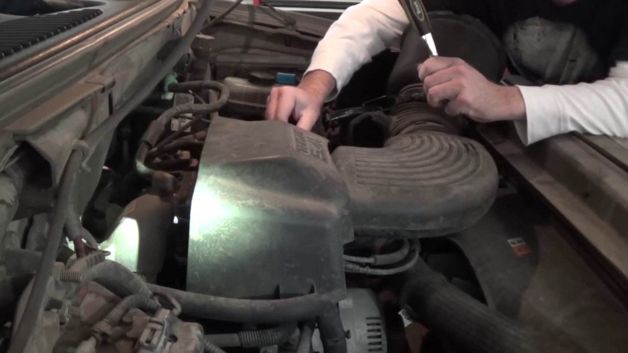 2003 ford f150 5 4 liter triton spark plug removal and install do it yourself and save some cash [ 1280 x 720 Pixel ]