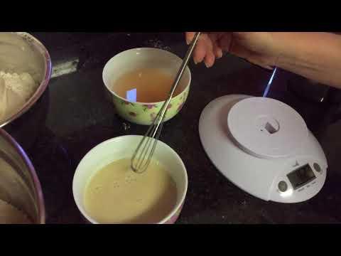 Spelt Bread baking